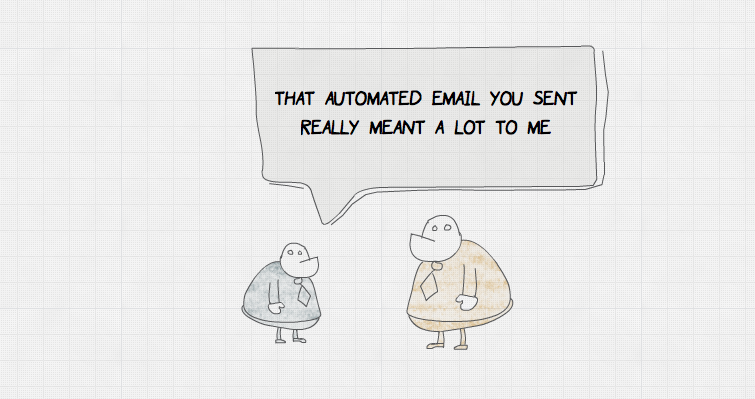 Automated email cartoon by Daniel McQuillen