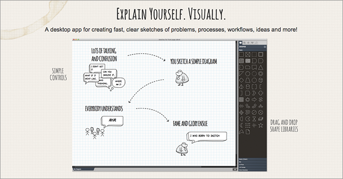 SimpleDiagrams application screencapture